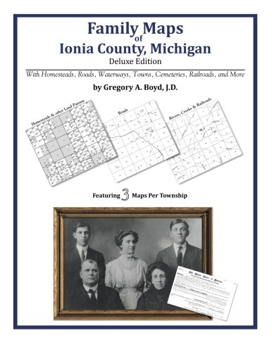Family Maps of Ionia County, Michigan
