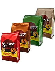 Senseo Hamster Spare Set of 2  Emergency Supply Pack Coffee Capsule Holder 4  Types 192  Pads/Servings