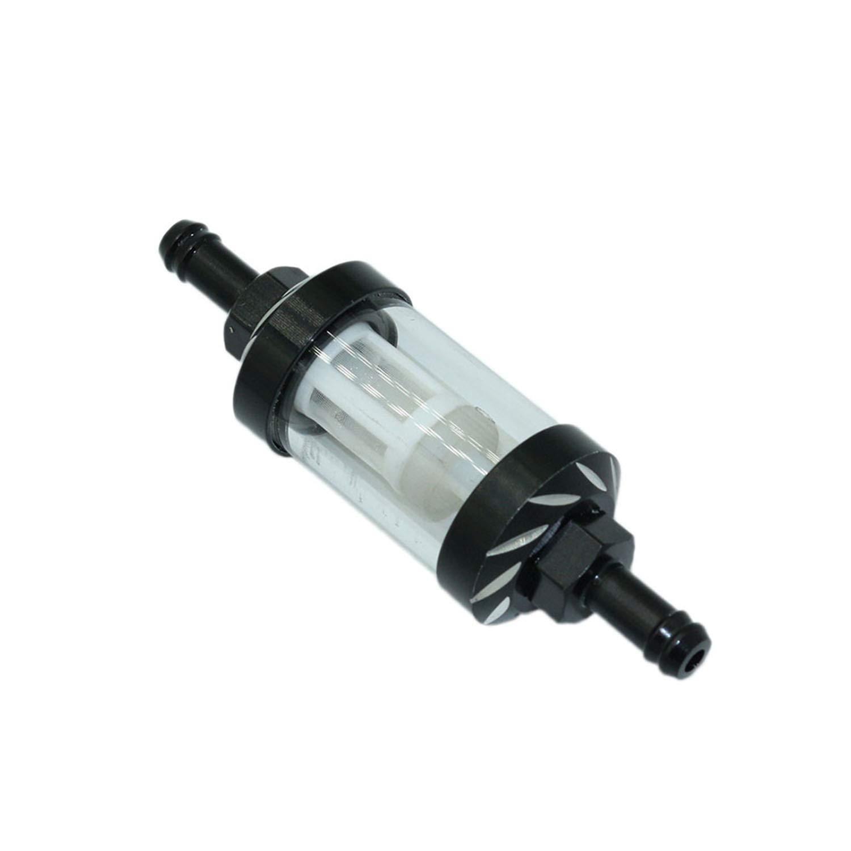 8 mm ViZe Benzinfilter f/ür Motorrad