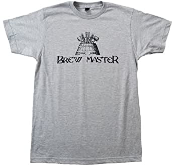 Brew Master | Craft Brew, Home Brewer Beer Lover Unisex T-shirt-Adult,M
