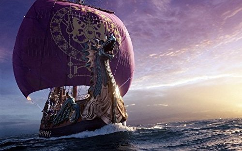 makeuseof Painting Viking Long Ship Home Decoration Canvas Poster 24x36 inch Silk Poster wall -