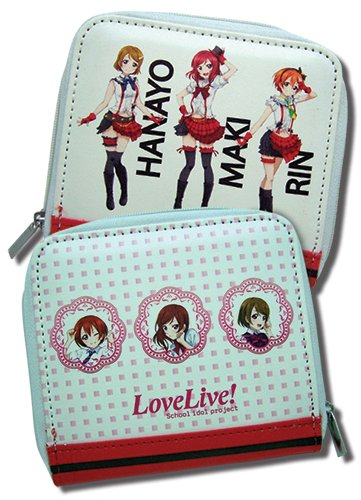 One Piece Wallet - Love Live! School Idol Project - New Group Toys Anime Licensed