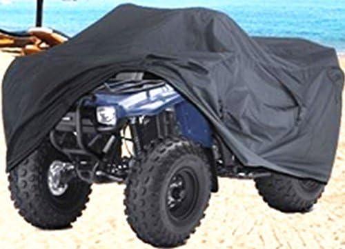 Funda protectora antipolvo para ATV Quad Bike Homyl color negro Nero M