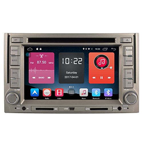 Autosion In Dash Android 6.0 Car DVD Player Sat Nav Radio Head Unit GPS Navigation Stereo for Hyundai H1 iLoad Starex H300 iMax Grand Starex Royale Support Bluetooth SD USB Radio OBD WIFI DVR 1080P by Autosion
