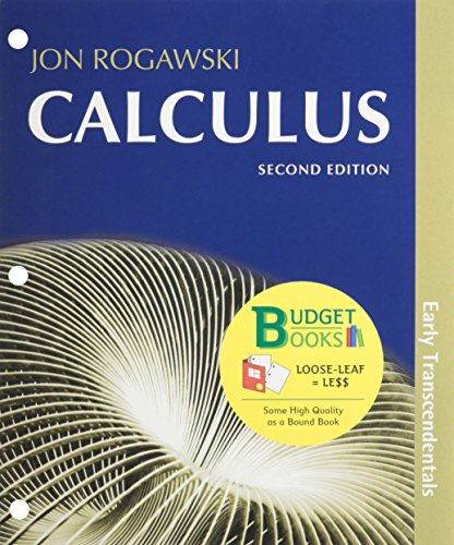 Calculus Early Transcendentals (Loose Leaf) & Online Study Center Access Card