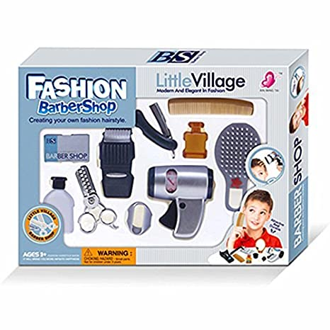 amazon com wps play accessories barber shop salon hairstyle play