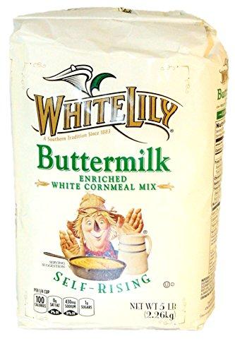 White Lily Self-Rising Buttermilk White Cornmeal Mix ()