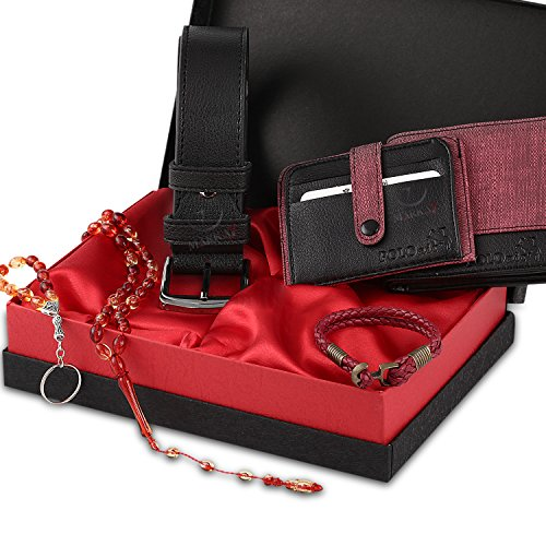 red accesories for men - 1