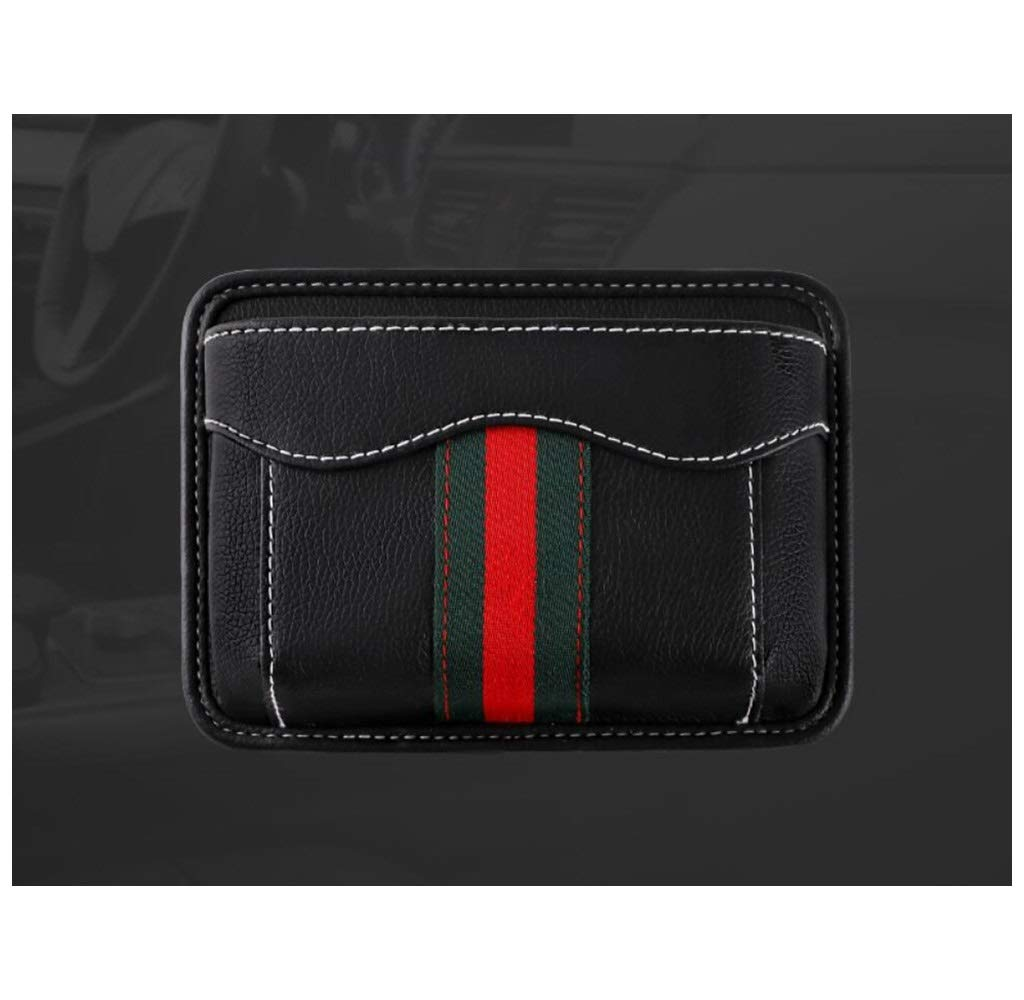 HongTeng Car Seat Storage Bag Multi-Function Storage Bag Leather Material (Color : B) by HongTeng (Image #4)