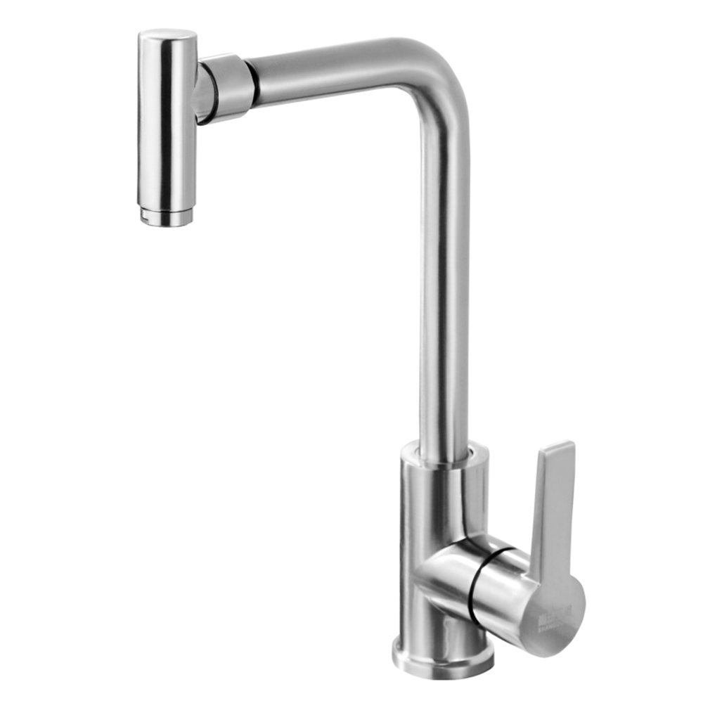 A Sun LL Kitchen Caipen Tong Hot And Cold Water Taps Stainless Steel Lead - Free Sink Faucet Drawing Can Be redating Taps ( color   A )