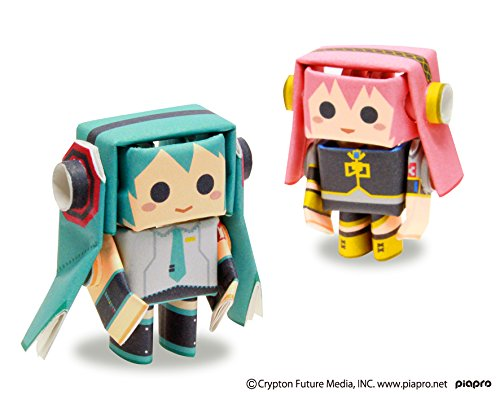 PIPEROID-Hatsune-Miku-Series-Miku-Luka-Paper-Craft-Robot-kit-from-Japan