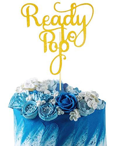 Baby Shower Cake Pops (Starsgarden Gold Glitter Ready to Pop Cake Topper - Baby Shower Anniversary Wedding Birthday Party Decoration)