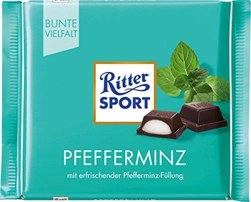 Ritter Sport Choc Bar Peppermnt