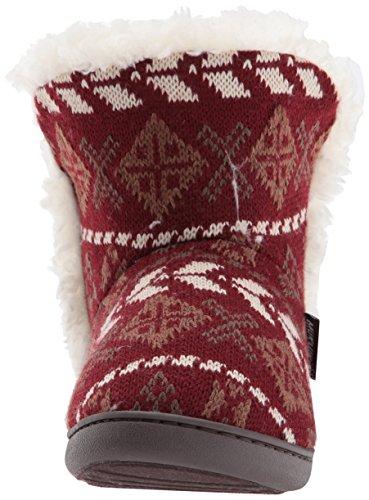 Muk Luks Kvinna Slipper Cheyenne Chianti Chianti
