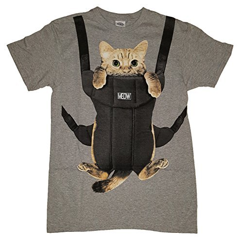 Kitty Cat Carrier Graphic T-Shirt 517C wZW8GL