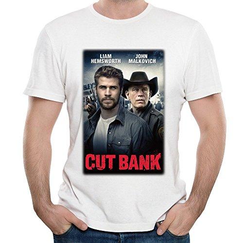 Mens Cut Bank Movie Poster O Neck Short Sleeve T Shirt Tee