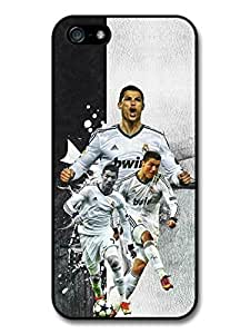 Cristiano Ronaldo Collage Real Madrid CF Football case for iPhone 5 5S A158