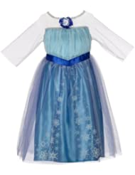 (第一)Disney Frozen Enchanting Dress冰雪奇缘公主裙 Elsa 4-6X $8.69