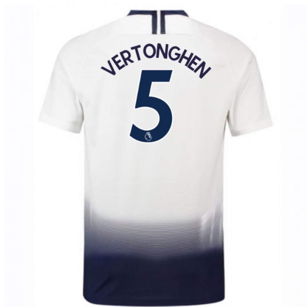 2018-2019 Tottenham Home Nike Football Soccer T-Shirt Trikot (Jan Vertonghen 5)