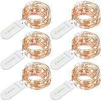 6 Set of Oak Leaf 30 LEDs 9.8ft Micro Twinkle Lights