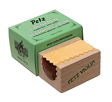 RESINA VIOLIN - Petz (5340) (Wooden) Caja Negra