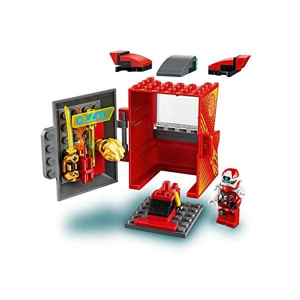 LEGO Ninjago Avatar di Kai Pod Sala Giochi, Set di Costruzioni con 2 Personaggi Digi Kai e la Minifigure di Avatar Kai… 3 spesavip