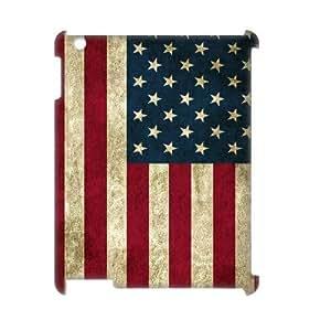 GGMMXO American Retro Flag Shell Phone Case For IPad 2,3,4 [Pattern-1]