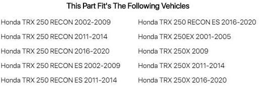 Honda TRX 250 RECON ES 2016-2019 Tusk Top End Gasket Kit Fits
