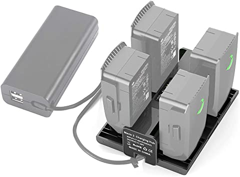 6-in-1 Rapid Smart Multi Battery Charging Hub Charger For DJI Mavic 2 Pro Z S6C8