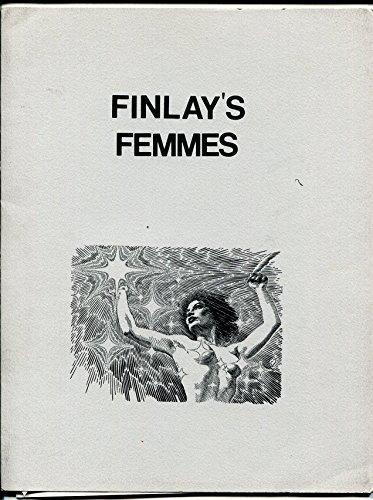- Finlay's Femmes 1976-Virgil Finlay portfolio-8 prints-8 1/2 X 11