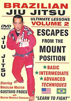 BRAZILIAN JIU JITSU ULTIMATE LESSONS VOLUME 2 ESCAPES FROM THE MOUNT POSITION