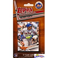 fan products of New York Mets 2017 Topps Baseball EXCLUSIVE Special Limited Edition 17 Card Complete Team Set with Yoenis Cespedes, Noah Syndergaard & Many More Stars & Rookies! Shipped in Bubble Mailer! WOWZZER!