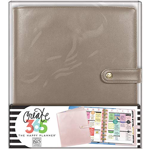 (me & my BIG ideas  CODC-05 Create 365 The Happy Planner Classic Deluxe Cover, Rose)
