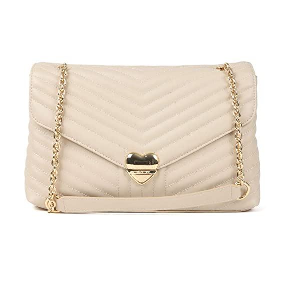 f7abb8d7a Valentino by Mario - Rapunzel Special Large Crossbody Bag, Beige:  Amazon.co.uk: Clothing