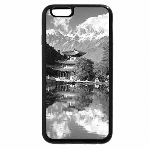 iPhone 6S Plus Case, iPhone 6 Plus Case (Black & White) - Yunnan China