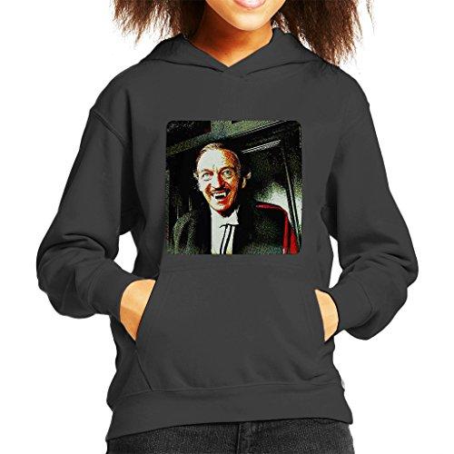 Grand Prix Hooded Sweatshirt - POD66 David Niven As Dracula 1979 Kid's Hooded Sweatshirt