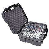 """MixerCASE 17"""" Mixer Carrying Case Compatible With Behringer XENYX X1204USB, 1204USB, QX1204USB, Q1204USB, 1202FX, 1202, 802, Q802USB, QX1202USB, 1002FX, QX1002USB, 1002B, Q1202USB, 1002"""