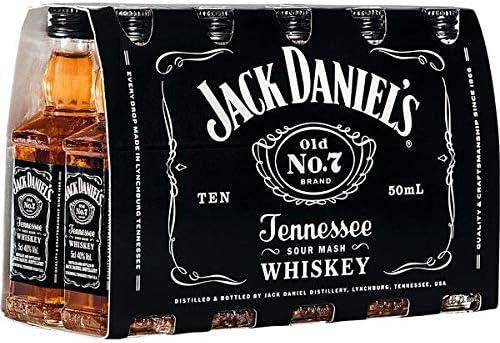 Jack Daniels Miniature American Bourbon Whiskey 5cl Miniature ...
