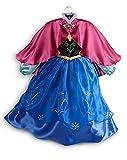 Disney Store Frozen Princess Anna Costume Size XS 4 - 4T
