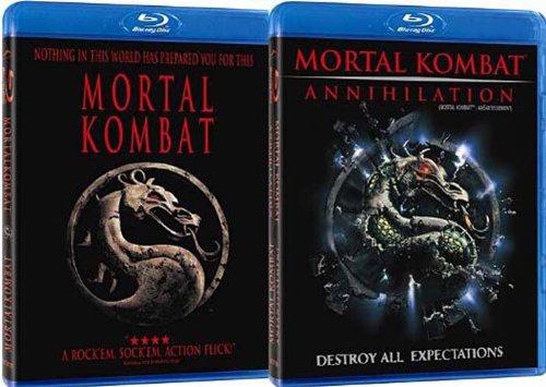 Mortal Kombat / Mortal Kombat: Annihilation (Blu-ray) (2 Pack)