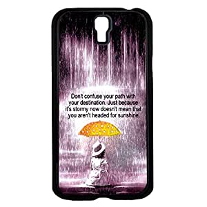 """""""Don't Confuse Your Path with Your Destination"""" Inspirational Quote Hard Snap on Phone Case (Galaxy s4 IV)"""