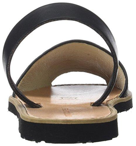 Liquidación Tienda en venta Liquidación de fábrica Menorquín Damen Avarca Ropa Peeptoe Negro Negro Sandalen (negro) Outlet Brand New Unisex Tienda de descuento en Outlet dUUqxQOl