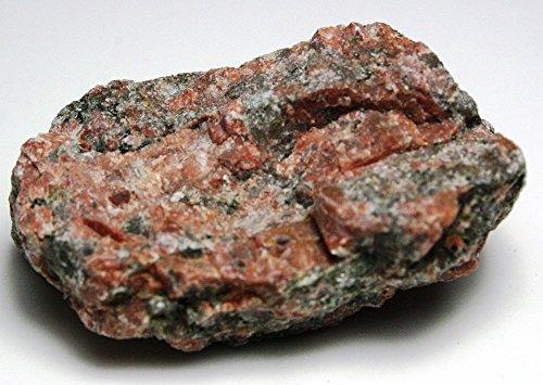 Red Granite Intrusive Igneous Rock – 2 Unpolished Rock Specimens
