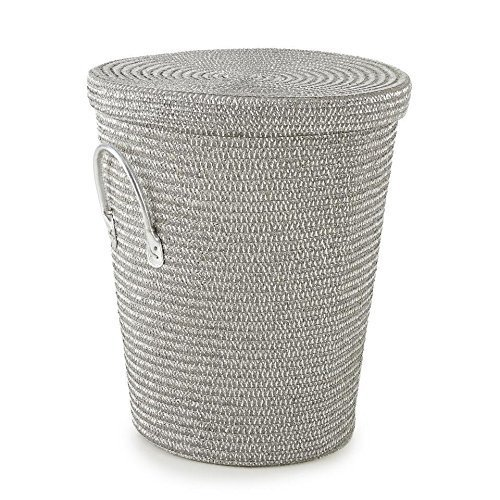 Levtex Home Baby Metallic Silver Hamper by Levtex home