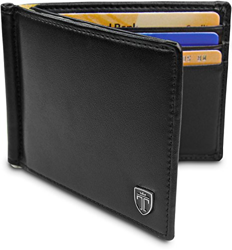 TRAVANDO Slim Wallet with Money Clip