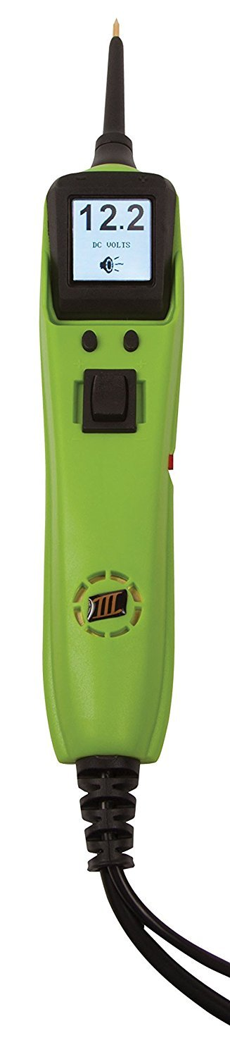 Power Probe IIIS Clamshell - Green (PP3S10CS) [Car Automotive Diagnostic Test Tool, Digital Volt Meter, ACDC Current Resistance Circuit Tester]