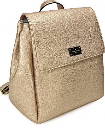 PAULS BOUTIQUE, ABBEY, bolsos de señora, mochilas, mochilas, mochilas, bolsas de ocio, oro claro, 25 x 32 x 14 cm (an x al x pr)