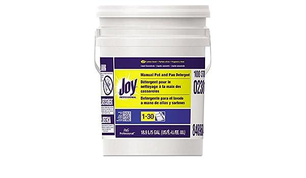 Amazon.com: Joy 02301 Dishwashing Liquid Lemon Five Gallon Pail: Health & Personal Care