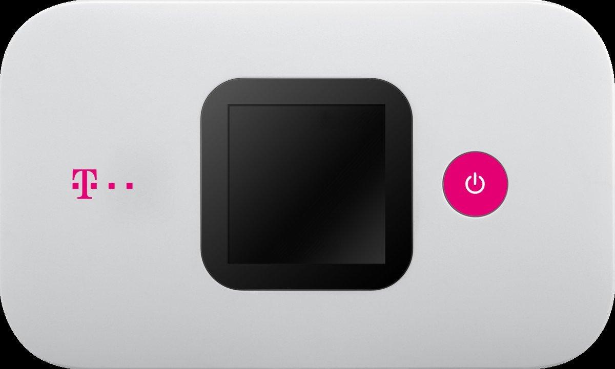 Huawei e5577cs de 321 Unlocked mó vil 4 G de Wi-Fi Hotspot (hasta 10 Dispositivos 150 Mbit/s con Lector de Tarjeta microSD), Telekom Brand E5577Cs-321