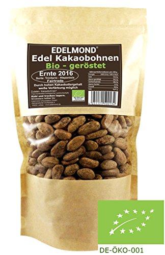 Frisch geröstet: Bio Kakaobohnen von Edelmond. 500 g Direkt vom Bauern aus Ernte 2016